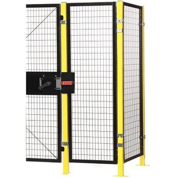 Folding Guard Drop-N-Lock® Machine Guarding - F E  Bennett Co