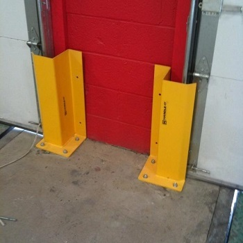 Handle it Overhead Door Track Guard